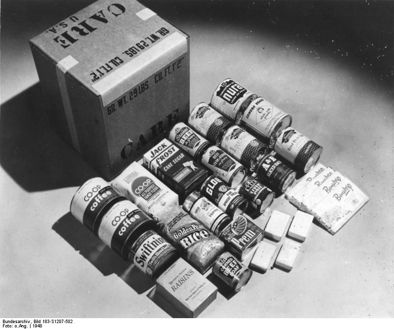 CARE-Paket aus den 40er Jahren