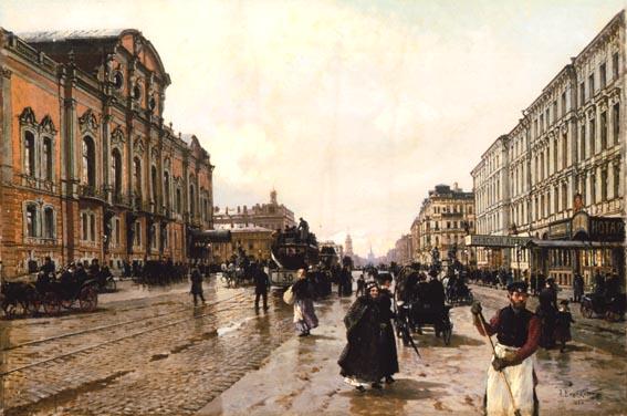 Alexander Beggrow - Morgen in St. Petersburg