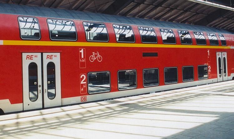 Zugklassen - die erste thronend über der zweiten