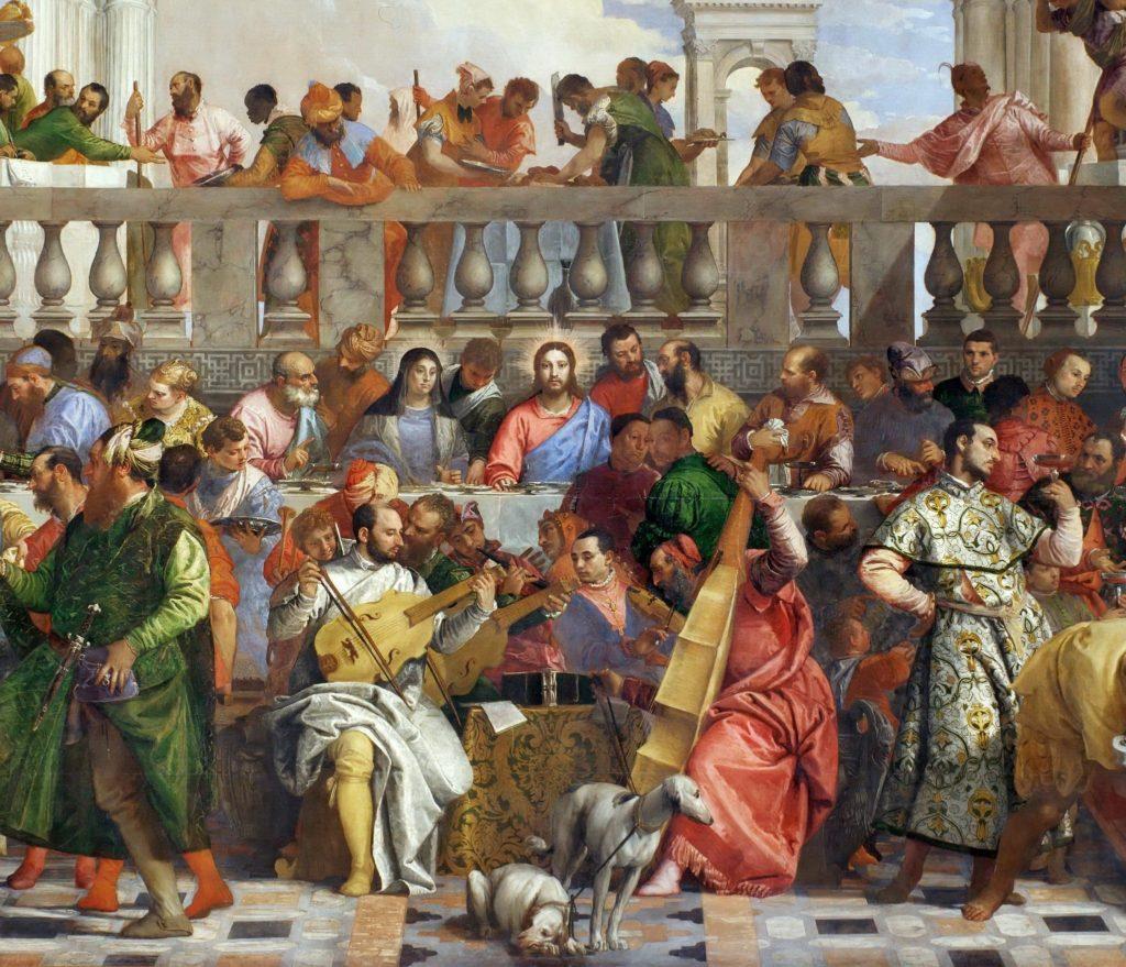 Die Hochzeit zu Kana - Gemälde von Paolo Veronese