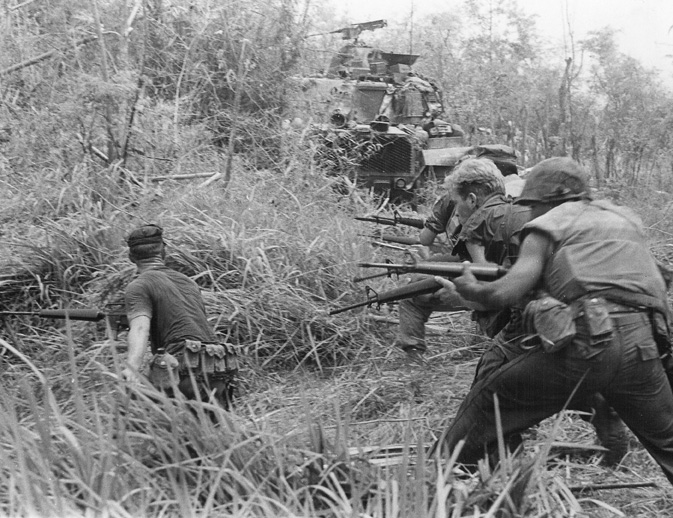 Amerikanische Soldaten im Vietnamkrieg