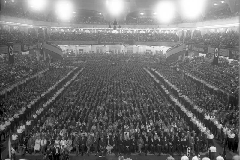NSDAP Versammlung im Sportpalast 1930