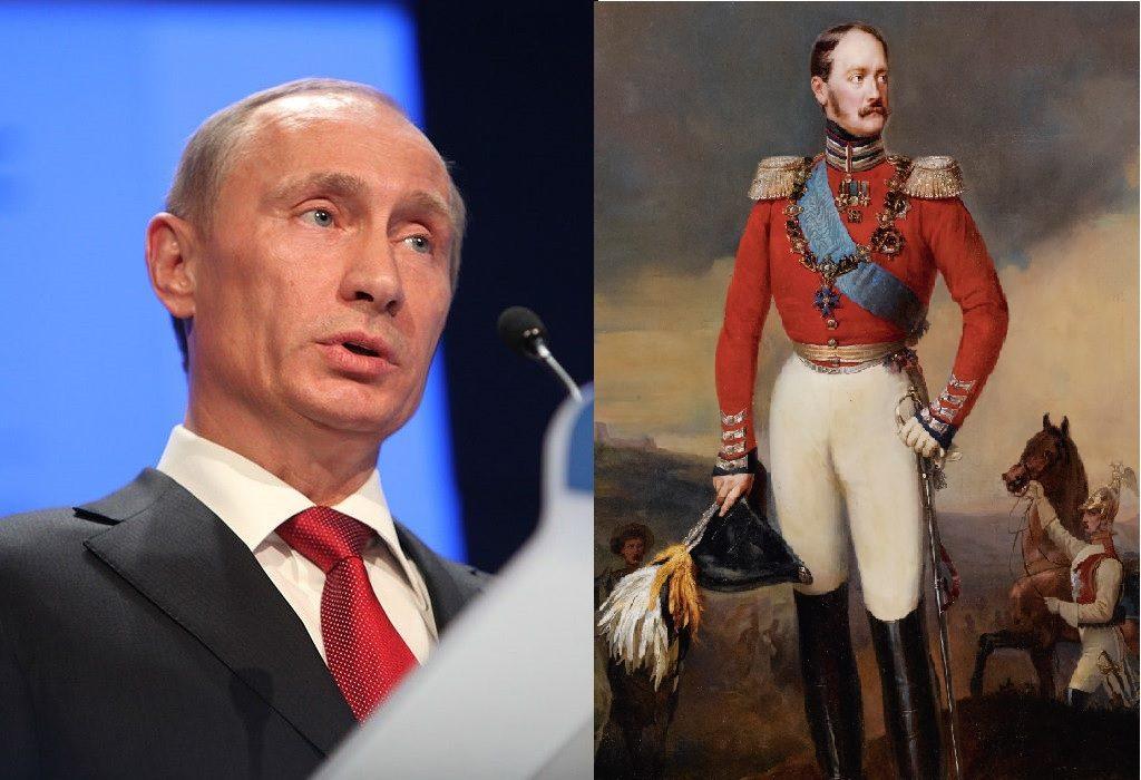 Schwächlinge vereint - Wladimir Putin und Nikolaus I.
