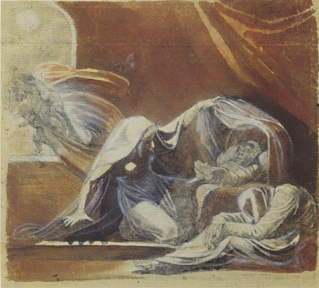 Johann Heinrich Füssli, Der Wechselbalg