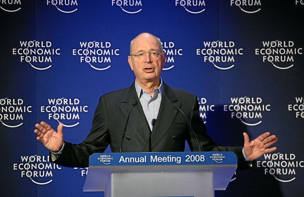 Klaus Schwab in Davos