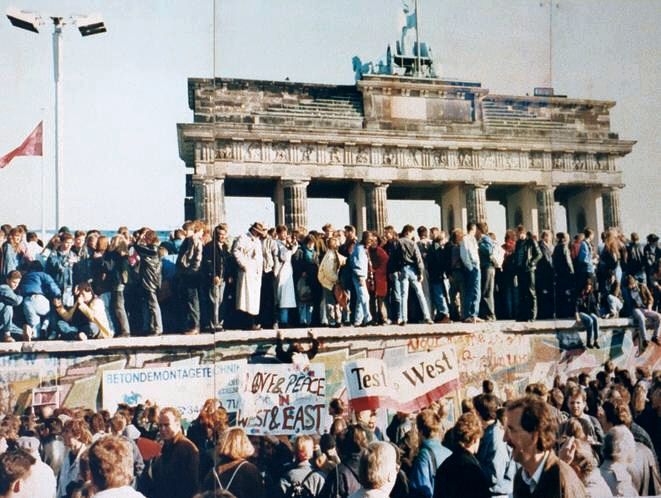 Mauerfall November 1989